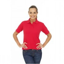 Polo femme coupe droite