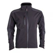 Veste noire Softshell Yang reflect