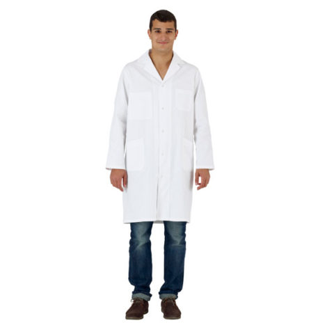 Blouse blanche homme